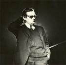 Jerzy Grotowski, 1968. Fot. Eugeniusz Wołoszczuk CAF/PAP