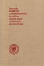 """Okładka książki """"Promocja Jerzego Grotowskiego na doktora honoris causa Uniwersytetu Wrocławskiego"""", 1993"""