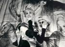 """Rena Mirecka w """"Misterium-buffo"""" według Majakowskiego, Teatr 13 Rzędów, Opole, lipiec 1960. Fot. Leonard Olejnik"""