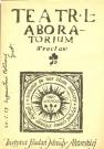 """Okładka programu """"Akropolis"""", 1962. Projekt okładki Waldemar Krygier"""